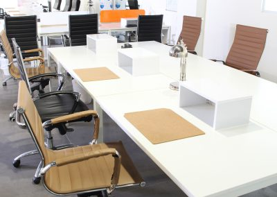 Open space desks